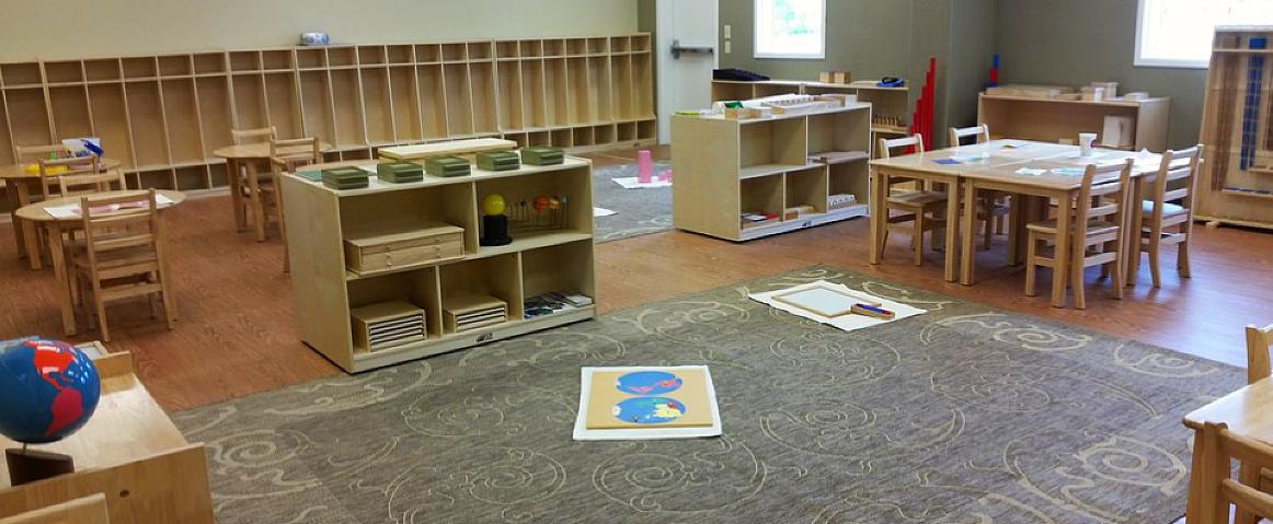 montessori academy classroom